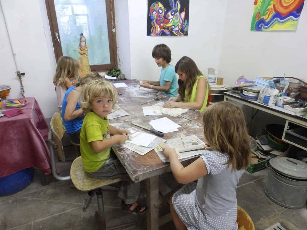 Atelierweek voor kinderen, 15-21 augustus 2021