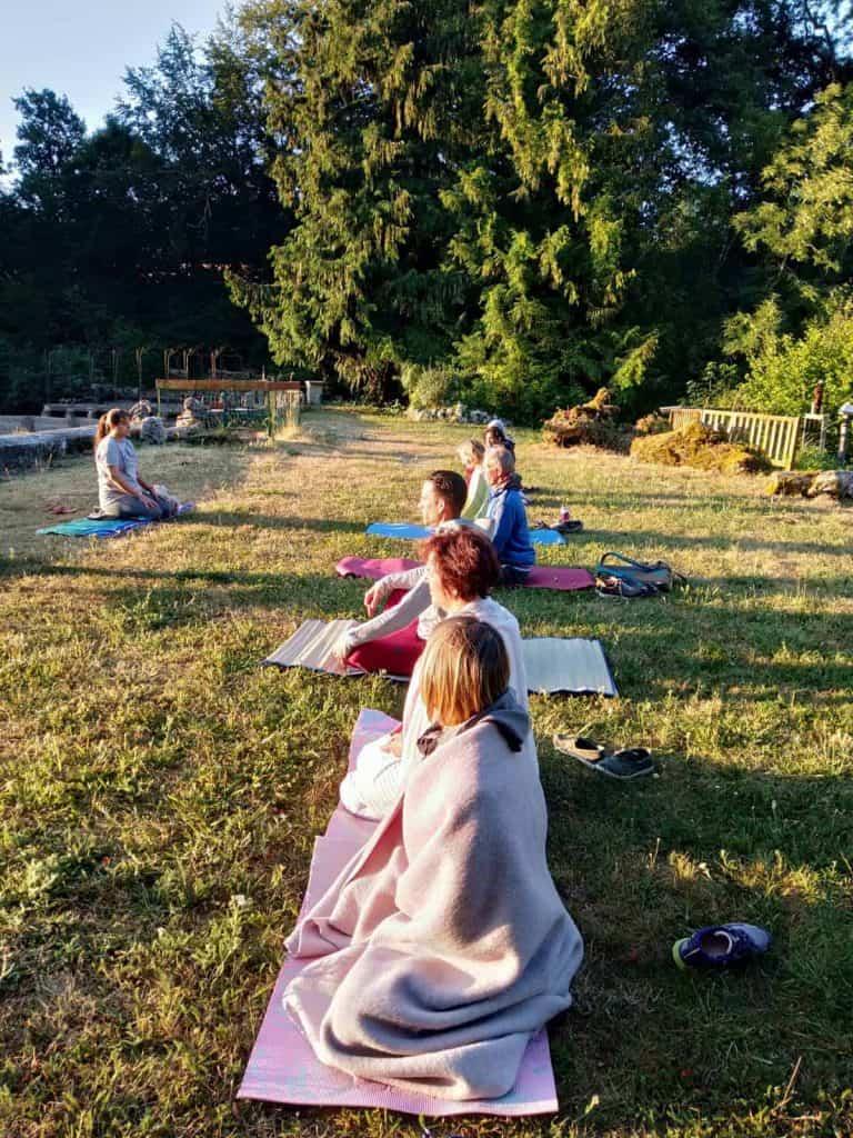 Start je dag met Yoga, 5 ochtenden van 7.30-8.30 uur, Juli en augustus 2021